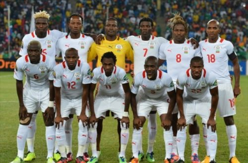 Article : Le match Étalons vs panthères au Burkina Faso.