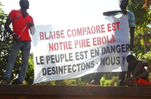 Article : Un cas d'Ebola au Burkina Faso